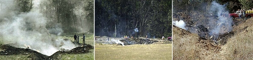 Shanksville Pensylvania - crash site with no wreckage, luggage or passengers???