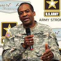 PROMOTED - Brigadier General Montague Winfield - in charge of National Military Command Centre on 9/11