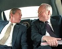 President Bush + Vice President Cheney