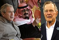 Bush senior met brother Shafig bin Laden in Washington on the morning of 9/11