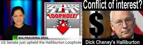 Haliburton Loophole