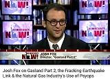 Josh Fox interviewed on Democracy Now!
