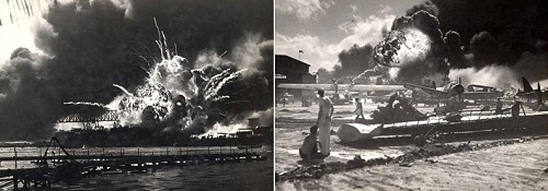 Attack on Pearl Harbour, 7 December, 1941