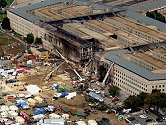 Pentagon after collapse of outer section