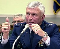 PROMOTED - General Ralph Eberhart - in charge of NORAD on 9/11