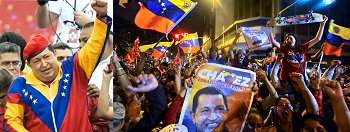 7th Oct 2012 Venezuela election - Hugo Chavez wins over half the votes and 20 out of 24 seats in parliament